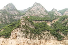 Mountain. Many steep peaks in the mountain royalty free stock photography