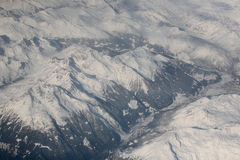 Mountain massif - the Alps Royalty Free Stock Photo