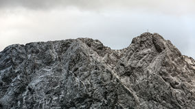 Mountain massif Giewont in the Western Tatra Mountains Stock Photo