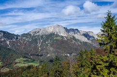 Mountain massif of Untersberg Royalty Free Stock Image