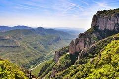Mountain massive Montserrat Royalty Free Stock Photo