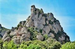 Mountain massive Montserrat Royalty Free Stock Photos