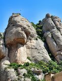 Mountain massive Montserrat Royalty Free Stock Photography