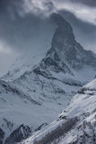 Mountain matterhorn zermatt switzerland Royalty Free Stock Images