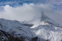 Mountain matterhorn zermatt switzerland Stock Photography