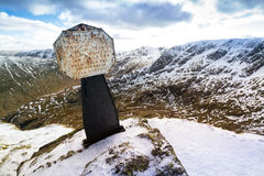 Mountain  Memorial. Stock Photo