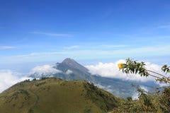 Mountain merbabu Royalty Free Stock Photo