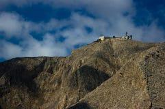 Mountain Mesa Vouno. Mountain Mesa Vouno, the island of Santorini, Greece Royalty Free Stock Photos