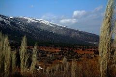 Mountain - sky Royalty Free Stock Photography