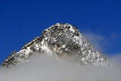 Mountain Mist. Mountain in the Alpental, WA area in the mist Stock Photography