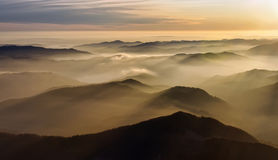 Mountain mist Royalty Free Stock Photo