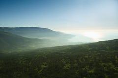 Mountain mist Royalty Free Stock Photo