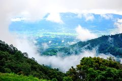 Mountain mist Stock Photography