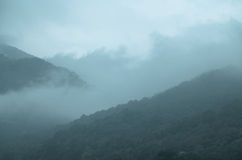 Mountain Mist and Fog Stock Photography