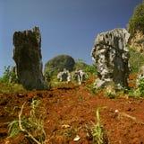 Mountain Mogote in Pinar del Rio, Vale de Vinales Royalty Free Stock Image