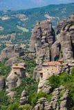 Mountain Monastery in Meteora, Greece Stock Photo