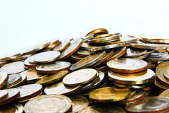 Mountain of money. Mountain of your investment money. Big profit Royalty Free Stock Photography