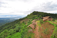 Mountain at monjam, Chaingmai Thailand Royalty Free Stock Photography