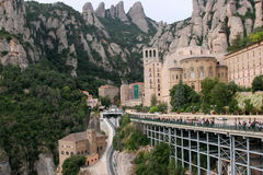 Mountain Monserrat Stock Photo