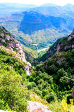 Mountain Monserrat Royalty Free Stock Images