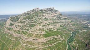 The Mountain of Monserrat Royalty Free Stock Photo