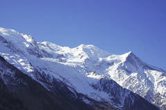 Mountain Mont Blanc Stock Images