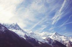 Mountain Mont Blanc Royalty Free Stock Photo