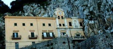 Mountain montepellegrino Royalty Free Stock Image