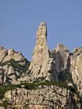Mountain Montserrat Royalty Free Stock Photography