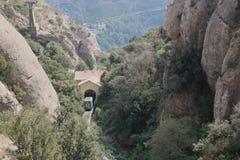 The mountain Montserrat Stock Photos