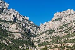 Mountain of Montserrat Stock Images