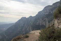 The mountain of Montserrat Royalty Free Stock Photography