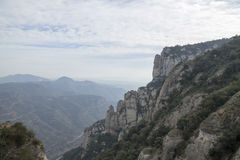 The mountain of Montserrat Stock Images