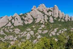 Mountain Montserrat, Spain Royalty Free Stock Image