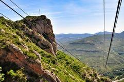 Mountain Montserrat Stock Photo
