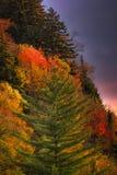 Mountain Morning Colors Stock Photos