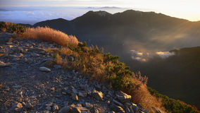 Mountain morning Royalty Free Stock Images