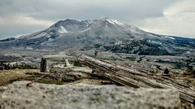 Mountain. Mount st helens Royalty Free Stock Images