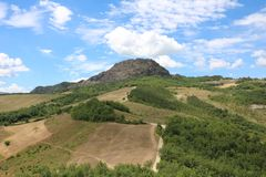 Mountain. In Piacenza Royalty Free Stock Photography