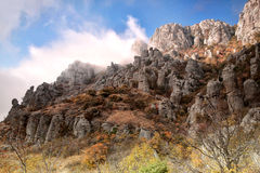 Mountain. S in the South of Crimea Stock Images