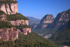 Mountain. Moutain in Henan Province, China Stock Photos
