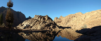 Mountain Mt Sinai Stock Images