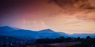 Mountain Natural Landscape Stock Photo