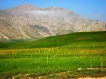 Mountain. Natural sky spring Royalty Free Stock Photos