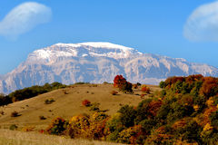 Mountain. Nature on the background of blue sky steppes and mountains Royalty Free Stock Photography