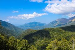 Mountain. Nature of Caucasus sochi stock photography