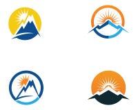 Mountain nature landscape  logo and symbols  icons template. Mountain nature landscape  logo and symbols  icons template Stock Photos