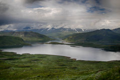 Mountain nature landscape in Morway summer Royalty Free Stock Photography
