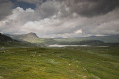 Mountain nature landscape in Morway summer Stock Images