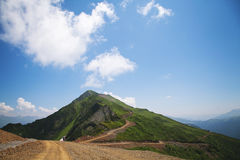 Mountain. The Nature textures of Russia. Yekaterinburg Stock Photo
